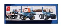 Trailer  - Peerless Logging Trailer  - 1:25 - AMT - s1103 - amts1103 | The Diecast Company