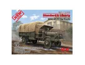 Military Vehicles  - Standard B Liberty WWI  - 1:35 - ICM - 35650 - icm35650 | The Diecast Company