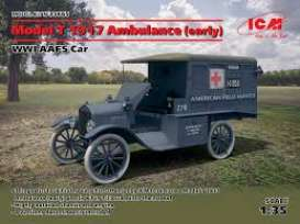 Ford  - Model T 1917  - 1:35 - ICM - 35665 - icm35665 | The Diecast Company