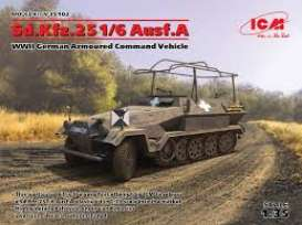Military Vehicles  - Sd.Kfz.251/6   - 1:35 - ICM - 35102 - icm35102 | The Diecast Company