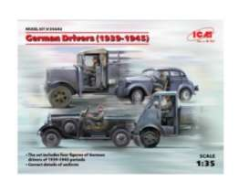 Figures diorama - German Drivers  - 1:35 - ICM - 35642 - icm35642 | The Diecast Company
