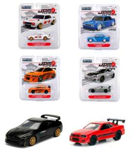 Assortment/ Mix  - 4 various - 1:64 - Jada Toys - 14036W3 - jada14036W3 | The Diecast Company