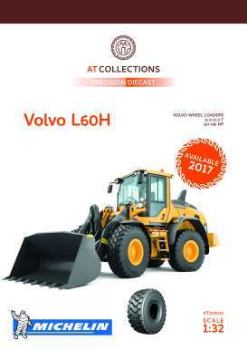 Volvo  - L60H wheel loader 2018  - 1:32 - AT Collections - 3200120 - AT3200120 | The Diecast Company
