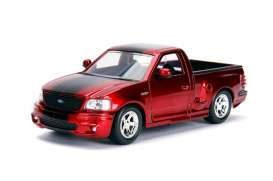 Ford  - SVT Lightning 1999 candy red/black - 1:24 - Jada Toys - 30357 - jada30357r | The Diecast Company