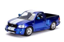 Ford  - SVT Lightning 1999 candy blue/white - 1:24 - Jada Toys - 30357 - jada30357b | The Diecast Company