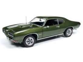Pontiac  - GTO 1968 green - 1:18 - Auto World - AMM1128 - AMM1128 | The Diecast Company
