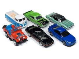 Assortment/ Mix  - various - 1:64 - Johnny Lightning - CG013A - JLCG013A | The Diecast Company