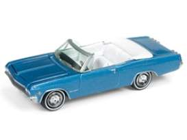 Chevrolet  - Impala Convertible 1965 blue - 1:64 - Johnny Lightning - SP039 - JLSP039 | The Diecast Company