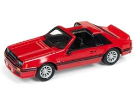 Ford  - Mustang 1982 red - 1:64 - Johnny Lightning - SP040 - JLSP040 | The Diecast Company