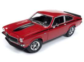 Chevrolet  - Vega 1972 red - 1:18 - Auto World - AMM1156 - AMM1156 | The Diecast Company