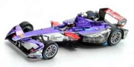 Virgin  - DS 2016 purple/white/red - 1:43 - Spark - S5909 - spaS5909 | The Diecast Company