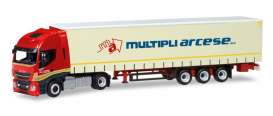 Iveco  - red/creme - 1:87 - Herpa - 309516 - herpa309516 | The Diecast Company