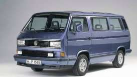 Volkswagen  - T3  1990 blue - 1:18 - Norev - nor188540 - nor188540 | The Diecast Company