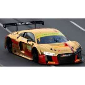 Audi  - R8 LMS 2017 gold/red - 1:43 - Spark - SA136 - spaSA136 | The Diecast Company