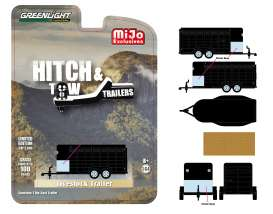 Trailer  - Livestock black - 1:64 - GreenLight - 51213 - gl51213 | The Diecast Company