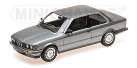 BMW  - 323I 1982 grey metallic - 1:18 - Minichamps - 155026006 - mc155026006 | The Diecast Company