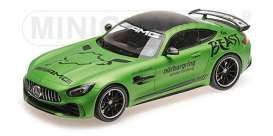Mercedes Benz  - 2017 green - 1:18 - Minichamps - 155036091 - mc155036091 | The Diecast Company