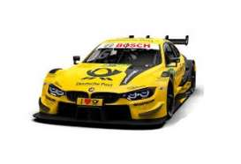 BMW  - M4 2018 yellow - 1:18 - Minichamps - 155182816 - mc155182816 | The Diecast Company