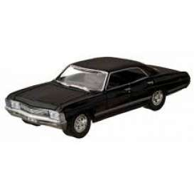 Chevrolet  - Impala *Supernatural* 1967 black - 1:64 - GreenLight - 51206 - gl51206 | The Diecast Company