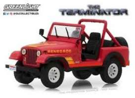 Jeep  - red - 1:64 - GreenLight - 51211 - gl51211 | The Diecast Company