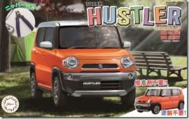 Suzuki  - Hustler orange - 1:24 - Fujimi - 066103 - fuji066103 | The Diecast Company