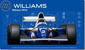 Williams  - FW16  - 1:20 - Fujimi - 092126 - fuji092126 | The Diecast Company