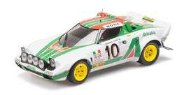 Lancia  - Stratos 1976 white/red/green - 1:18 - Minichamps - 155761710 - mc155761710 | The Diecast Company