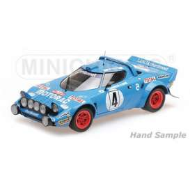 Lancia  - Stratos 1979 blue - 1:18 - Minichamps - 155791704 - mc155791704 | The Diecast Company