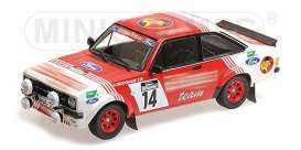Ford  - RS 1800 1983 white/red - 1:18 - Minichamps - 155838714 - mc155838714 | The Diecast Company