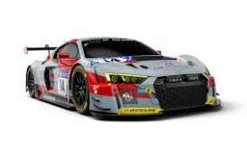 Audi  - R8 LMS 2018 grey/red/black - 1:43 - Minichamps - 410181714 - mc410181714 | The Diecast Company