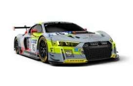 Audi  - R8 LMS 2018 grey/yellow/black - 1:43 - Minichamps - 410181715 - mc410181715 | The Diecast Company