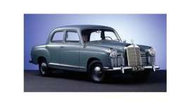 Mercedes Benz  - 180 1955 blue - 1:43 - Minichamps - 940033102 - mc940033102 | The Diecast Company