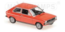 Volkswagen  - Polo 1979 red - 1:43 - Minichamps - 940050500 - mc940050500 | The Diecast Company