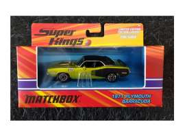 Plymouth  - Barracuda 1971 green/black - 1:43 - Matchbox - J6479 - mbJ6479 | The Diecast Company