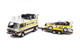 Audi  - 1986 yellow/white - 1:18 - OttOmobile Miniatures - 276 - otto276 | The Diecast Company