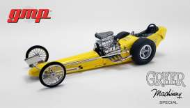 Dragster  - yellow/black - 1:18 - GMP - GMP18917 - gmp18917 | The Diecast Company