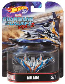 Marvel Guardians of the Galaxy - Milano blue/orange/silver - 1:64 - Hotwheels - FLD28 - hwmvFLD28 | The Diecast Company