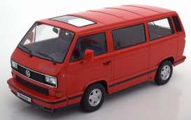 Volkswagen  - T3 *red star* red - 1:18 - KK - Scale - 180203 - kkdc180203 | The Diecast Company