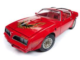 Pontiac  - Trans Am 1977 red - 1:18 - Auto World - AMM1160 - AMM1160 | The Diecast Company