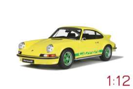 Porsche  - 911 2.7 RS 1973 yellow - 1:12 - GT Spirit - GT733 - GT733 | The Diecast Company