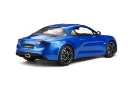 Alpine  - A110 2017 blue - 1:12 - OttOmobile Miniatures - G031 - ottoG031 | The Diecast Company