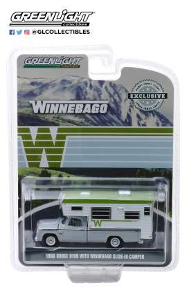 Dodge  - D-100 1966 t.b.a. - 1:64 - GreenLight - 30022 - gl30022 | The Diecast Company