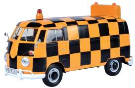 Volkswagen  - Type 2 black/orange - 1:24 - Motor Max - 79572 - mmax79572 | The Diecast Company