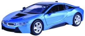 BMW  - I8 Coupé 2019 blue - 1:24 - Motor Max - 79359b - mmax79359b | The Diecast Company