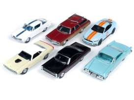 Assortment/ Mix  - various - 1:64 - Auto World - 64202A - AW64202A | The Diecast Company