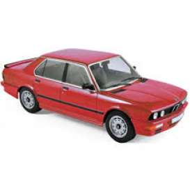 BMW  - M535i 1986 red - 1:18 - Norev - 183262 - nor183262 | The Diecast Company