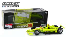 Chevrolet  - 2019 yellow-green - 1:18 - GreenLight - 11050 - gl11050 | The Diecast Company
