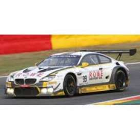 BMW  - M6 GT3 2018 white/yellow/black - 1:43 - Spark - sb202 - spasb202 | The Diecast Company