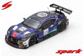 Lexus  - RC F GT3 2018 blue/black - 1:43 - Spark - sb221 - spasb221 | The Diecast Company