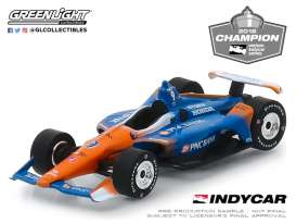 Honda  - 2018 blue/orange - 1:64 - GreenLight - 10835 - gl10835 | The Diecast Company